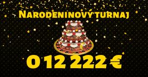 Fortuna Casino oslavuje 1. narodeniny: Hrajte turnaj o 12 222 €