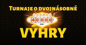 Fortuna Casino turnaje o dvojnásobné výhry