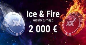 Ice & Fire turnaj v DOXXbet Kasíno: Hrajte o 2000 € v Apollo hrách