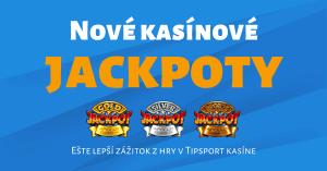 Apollo Jackpoty v Tipsport Kasíno