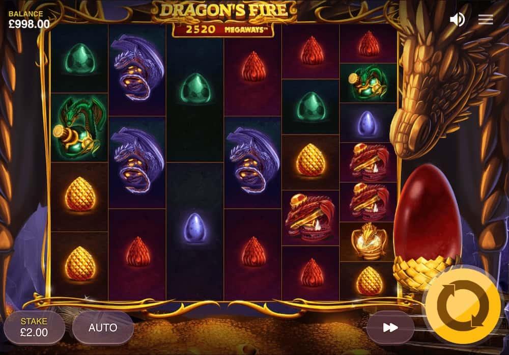 Dragon's Fire MegaWays od Red Tiger