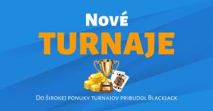 Tipsport Kasíno spustilo nové turnaje, Blackjack casino turnaj