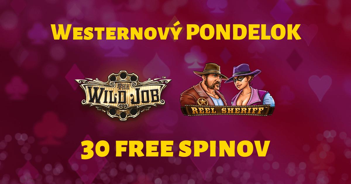 Westernový pondelok v SYNOTtip Casino o 30 free spinov