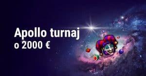 Štedrý Apollo turnaj o 2000 € v DOXXbet kasíne