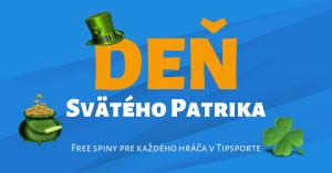 Oslávte Deň svätého Patrika v Tipsport Kasíno