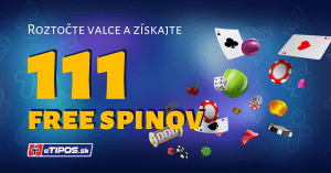 Divoký týždeň v eTIPOS Kasíno o 111 free spinov