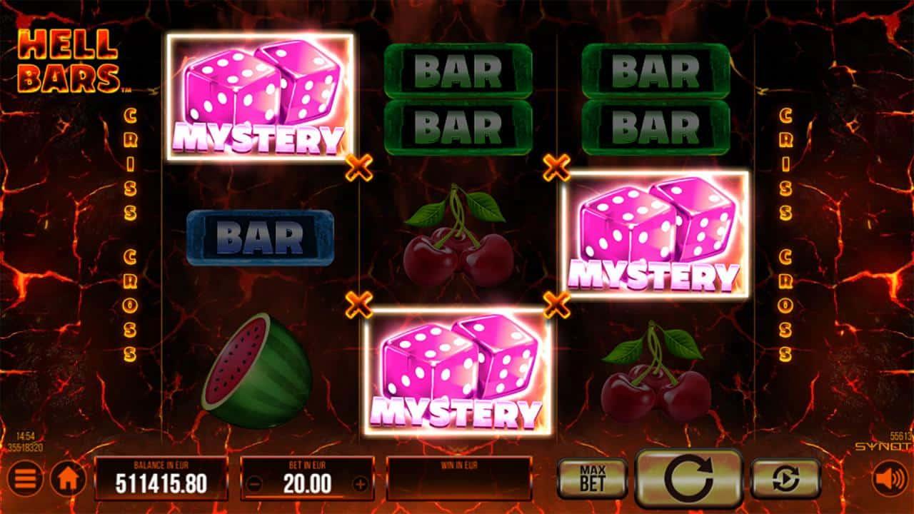 Hell Bars - Mystery symbol výhra