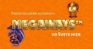 Megaways automaty v kasíne Svet hier