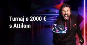 Turnaj o 2000 € s Attilom Véghom s DOXXbet Kasíno