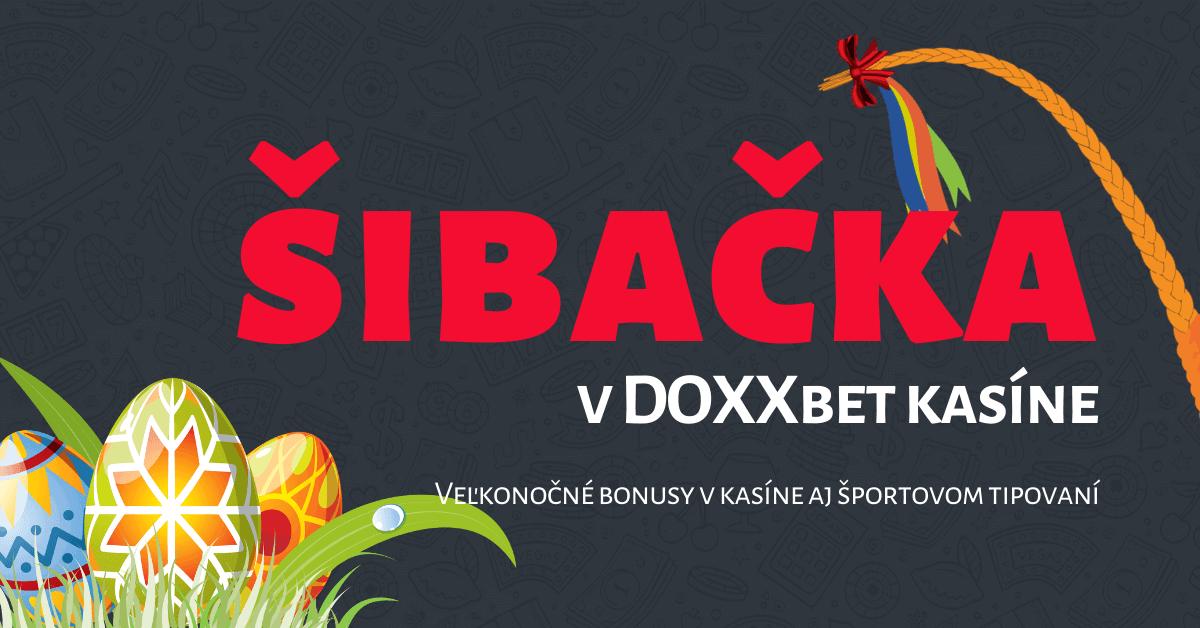 Šibačka v DOXXbet kasíne - bonusy na stávkovanie aj do kasína