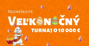 Veľkonočný turnaj o 10 000 € v Niké Sver hier