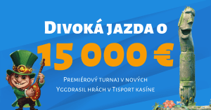 Divoká jazda o 15 000 € v Tipsport Kasíno