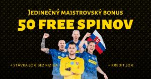 Jedinečný vvstupný bonus vo Fortuna Casino len počas EURO 2020