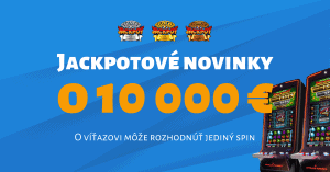 10 nových hier v Tipsport kasíno a Megaturnaj o 10-tisíc Eur
