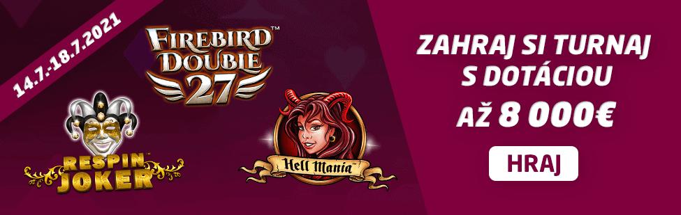 Turnaj o 8000 € v SYNOTtip Casino - júl 2021 - banner