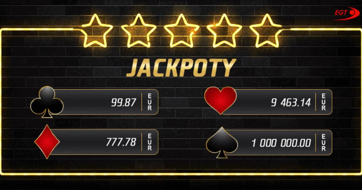 V eTIPOS kasíne padol parádny EGT jackpot v hodnote viac ako 37-tisíc eur