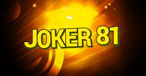 Online automat Joker 81 od Kajot Games