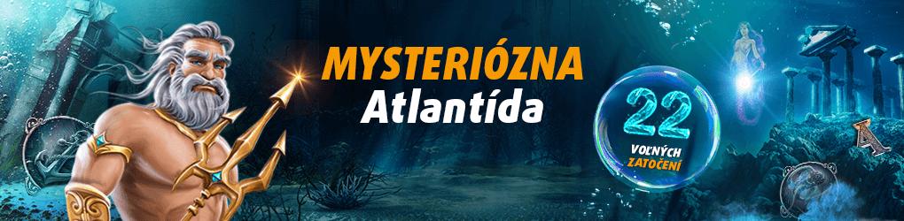 Mysteriózna Atlantída - Tipsport kasíno banner