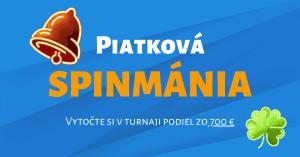 Turnaj Piatková spinmánia v Tipsport kasíno