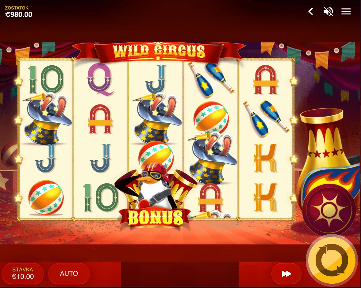 Náhľad hry Wild Circus od Red Tiger