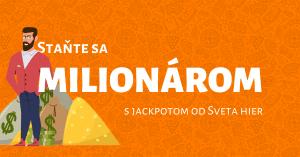 Staňte sa milionárom v kasíne Svet hier