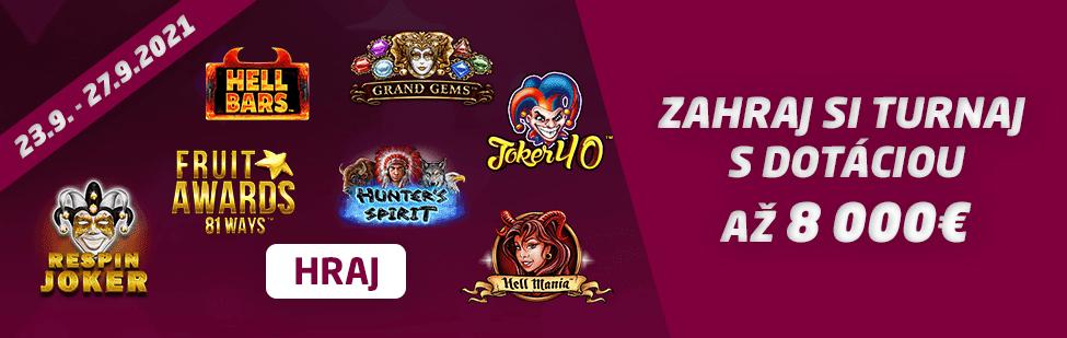 18. turnaj v SYNOTtip Casino banner