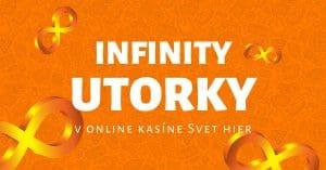 Infinity utorky v online kasíne Svet hier